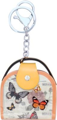 Super Drool Yellow Designer Acrylic Bag Locking Key Chain