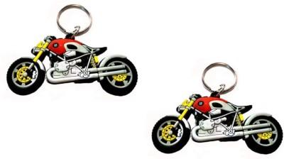 ABZR ombo Of BMW Rubber Bike Key Chain Key Chain