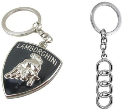 Chainz Lamborghini Metal And Audi 4 Ring Key Chain