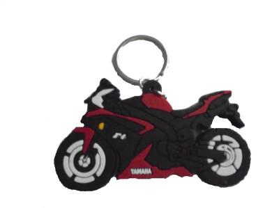 Spotdeal SDL651 Yamaha bike Rubber keychain Carabiner