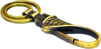 Jaycoknit Antique rouille Locking Key Chain