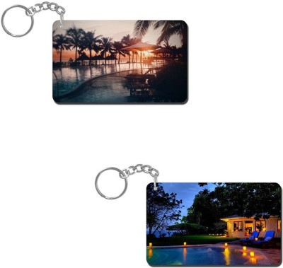 Lovely Collection Beaches Key Chain