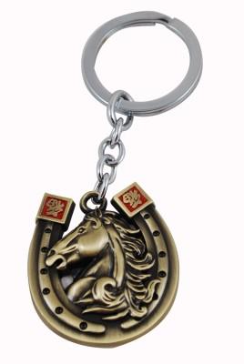 Forty Creek Gold Horse Nail Locking Key Chain