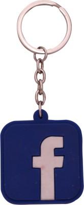 Spotdeal SDL76 Facebook Rubber Key Chain