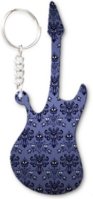 Lolprint 25 Pattern Guitar Key Chain