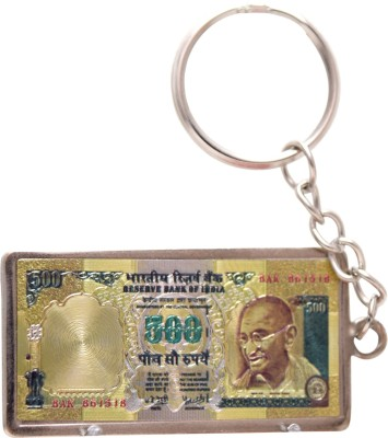Oyedeal Rs 500 Artificial Indian Currency KYCN1656 Key Chain