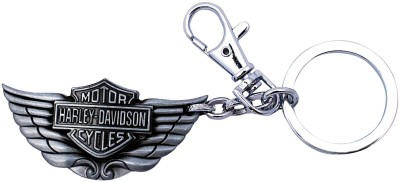 i-gadgets Harley Davidson Wing Metal Slv Locking Key Chain