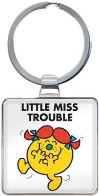 That Company called If LITTLE MISS TROUBLE KEYRING Key Chain