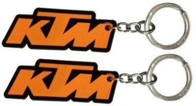 Abzr Trendy KTM Rubber KeyChain Key Chain