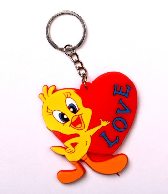 JDK1 Heart With Carton Design Key Chain