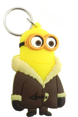 Techpro Despicable Me Minion With Coat Key Chain