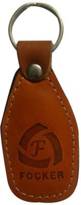 Focker Leather Oval 1 Key Chain