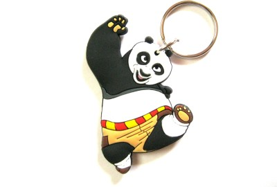 Optimum Deal Cute Kung Fu Panda Double Sided Key Chain