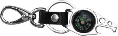 PARRK Compass with Bottle Opener f1 Key Chain