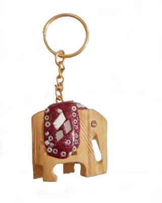 JaipurCraft elephent key chain Key Chain