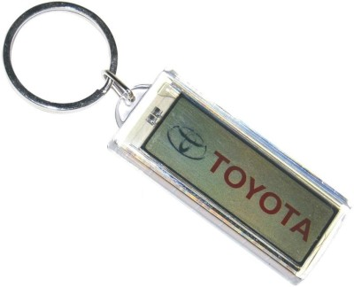 Ezone New Toyata Cool Solar Flashing Key Chains Key Chain
