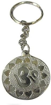 DCS Silver Colour Sai Baba Key Chain