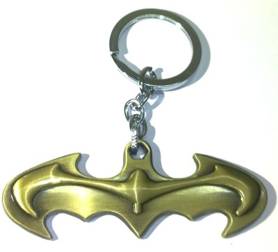 AA Retail Batman Curved Premium Metal Bronze Key Chain