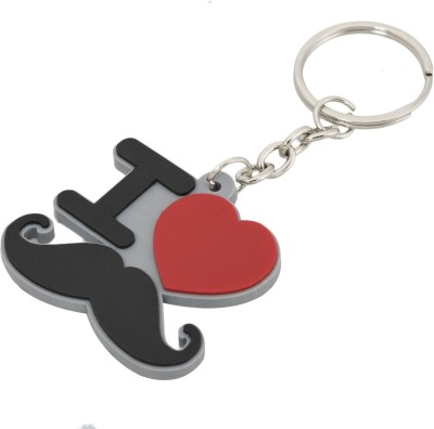 Anishop Latest I Love Mooch Rubber Keychain Key Chain