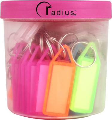 Radius Assorted Key Tags Key Chain