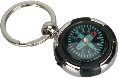 Chainz Round Compass Metal Key Chain