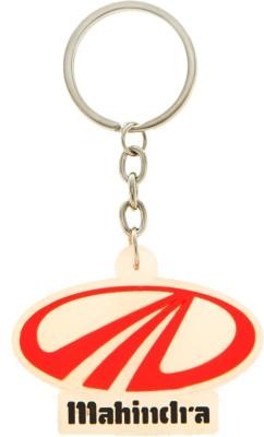 VeeVi Silicone Mahindra Key Chain Key Chain