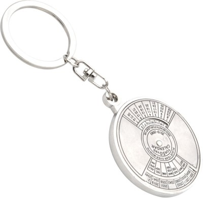 Brighton Compass Date Perpetual With Calendar Up-To 50 Years Key Chain