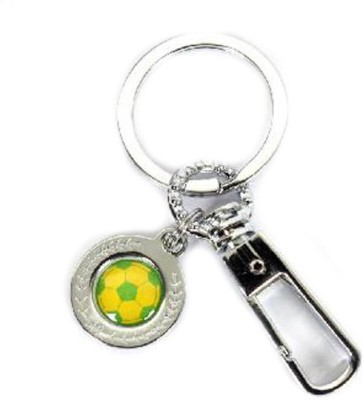 Lata Loop With Football Keychain Locking Key Chain