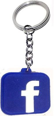 Kartbin Facebook Looking Locking Key Chain