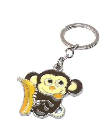 Brndey Cute Monkey with Banana keychain Key Chain