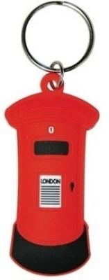 Bombay Merch London Letter Box Rubber Key Chain