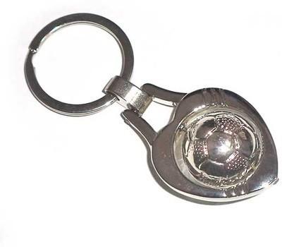 U. R. God Rotating Football Key Chain