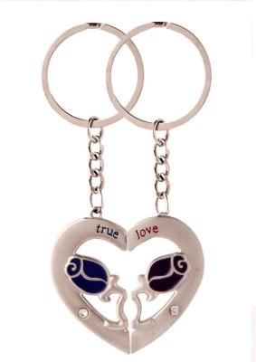 KeepSake Flower Heart Key Chain