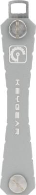 Keygear Metal Grey Locking Key Chain