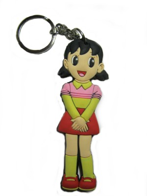 Optimum Deal Cute Cartoon Character Shizuka Double Sided Rubber Key Chain
