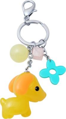 Super Drool Yellow Sweet Puppy Locking Key Chain