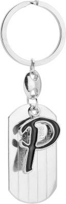 Bajya Alphabet P Key Chain