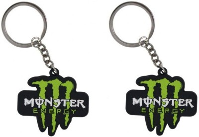 Confident Monster Energy Non Metal Key Chain
