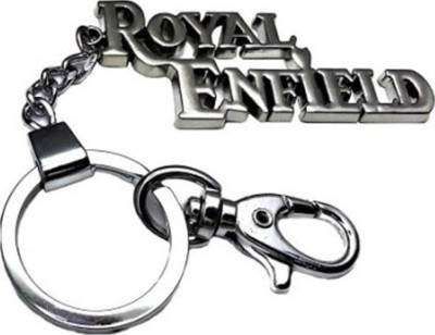 Chainz Royal Enfield Metallic hooked Locking Key Chain