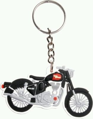 mapple royal enfield rubber Key Chain