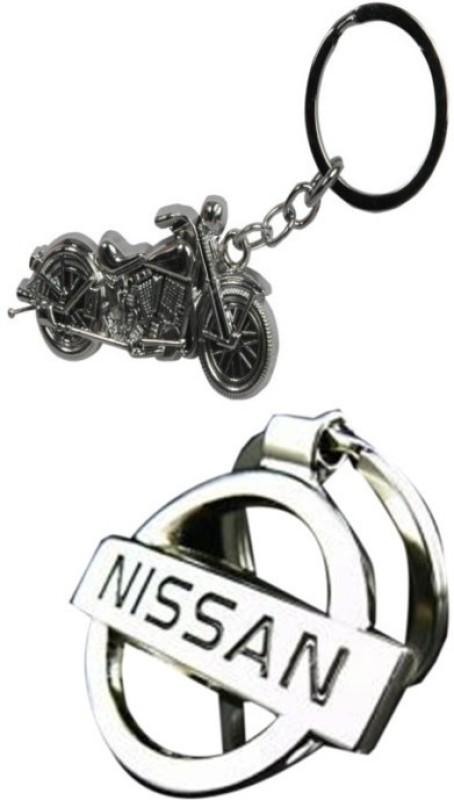 Alexus Bike And Nissan Key Chain