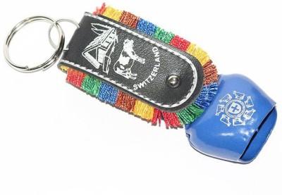 Aura Cute Big Cowbell Cow Bell Locking Key Chain