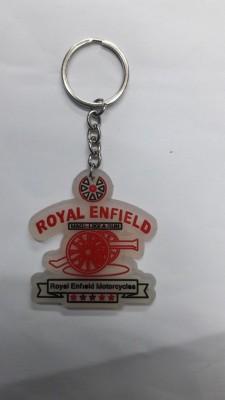 Bike World Royal Enfield Motorbike Key Chain Key Chain
