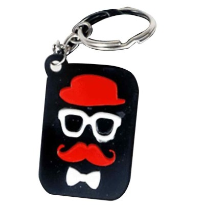 Anishop Latest Trendy Acrallic 3d face keychain Key Chain