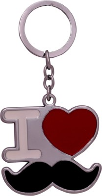 Oyedeal KYCN776 I LUV Moustache Key Chain