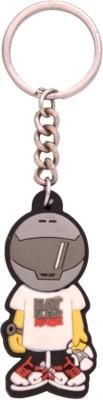 Spotdeal SDL622 Eat sleep Race rubber key chain Carabiner