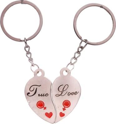 Spotdeal SDL286 True love couple two piece key chain Key Chain