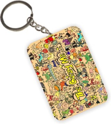 The Crazy Me Designer Key Chain