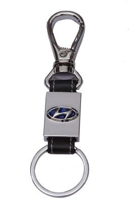 Daffodils Hundai Car Logo Key Chain Locking Key Chain