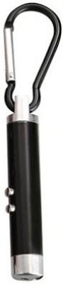 Phoenix Black Laser With Led Torch Locking Locking Key Chain